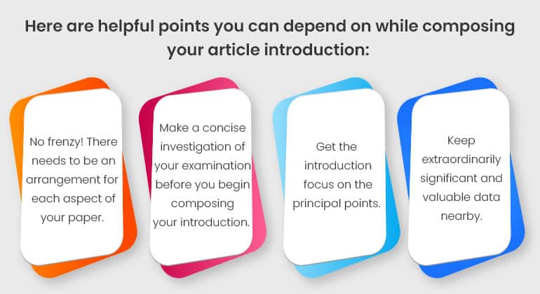 PURPOSE OF THE INTRODUCTION IN AN ESSAY