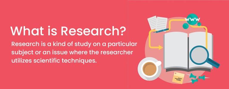 Research technique